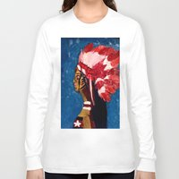 native american Long Sleeve T-shirts featuring Native American by Ksuhappy