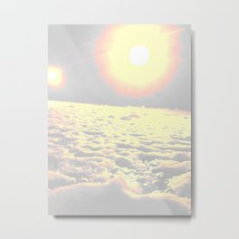 sun it rises Metal Print