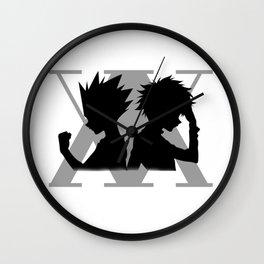Anime Hunter Wall Clock