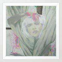 chandelier Art Prints featuring Chandelier by marianneaurora