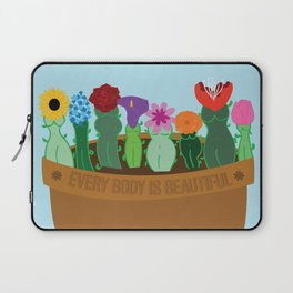 Every Body Is Beautiful Laptop Sleeve