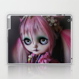 LITTLE OCTOPUS CUSTOM BLYTHE ART DOLL PINK NAVY Laptop & iPad Skin