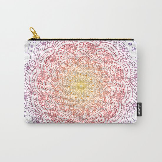 Round ornament - color Carry-All Pouch