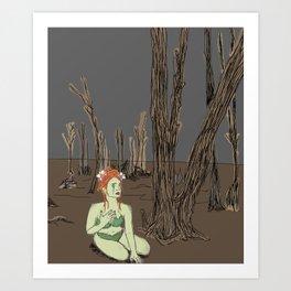 Poisoned Ivy Art Print