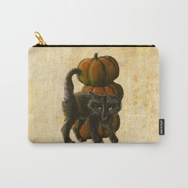 Halloween Black Cat Carry-All Pouch