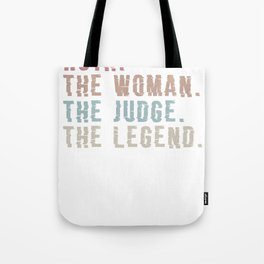Ruth. The Woman. The Judge. Legend Ugly Christmas sweatshirt T-Shirt View in Uploader Tote Bag