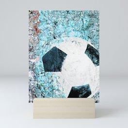 Soccer art Mini Art Print