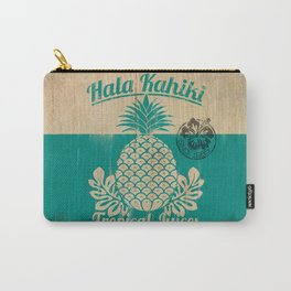Hala Kahiki Juice Stand wooden board. Carry-All Pouch