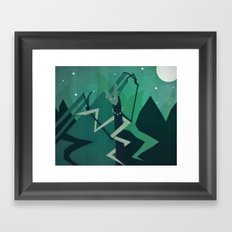 Lone Idol Framed Art Print
