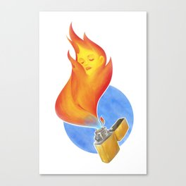Lighter Canvas Print