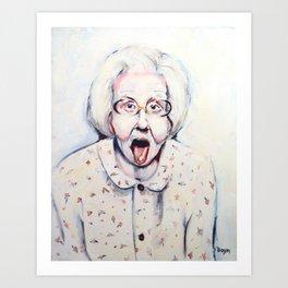 Edith Art Print