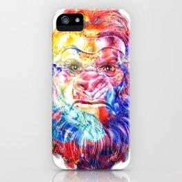 Artsy Yeti iPhone Case
