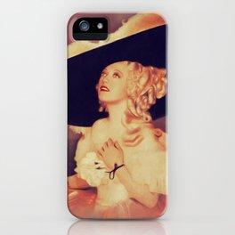 Marion Davies, Vintage Actress iPhone Case