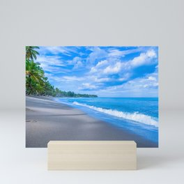 Seascape of Samana Mini Art Print