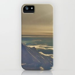 At the Top of Denali iPhone Case