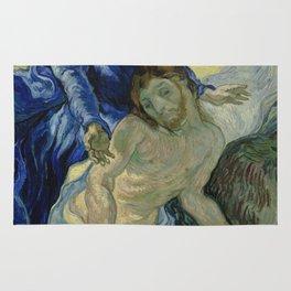 Pietà (after Delacroix) Rug