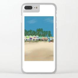 Palolem Beach in Goa Clear iPhone Case
