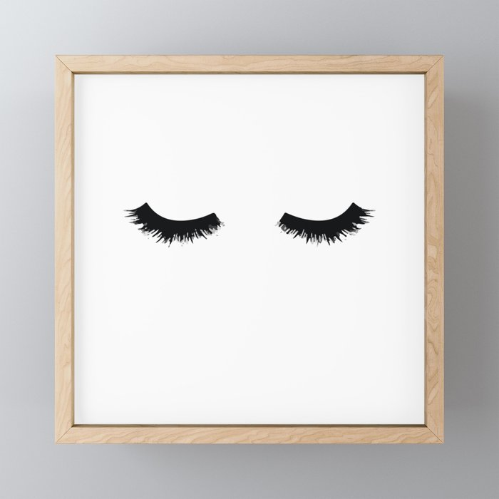 Lash Love Framed Mini Art Print