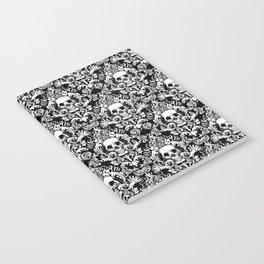 Skull Damask Notebook