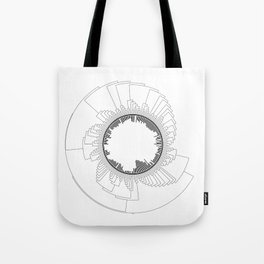 Tree of Life (White) Tote Bag