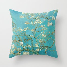 Almond Blossom by Vincent van Gogh, 1890 Throw Pillow