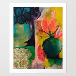 Tea With Diebenkorn Art Print