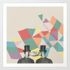 Join Hands Art Print