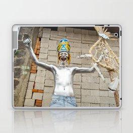 The silver aztec Laptop & iPad Skin