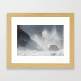 Nazaré Framed Art Print