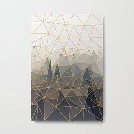 Autumn abstract landscape 1 Metal Print