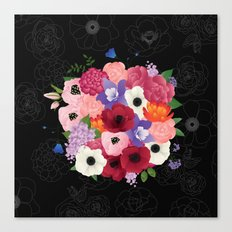 floral topiary Canvas Print