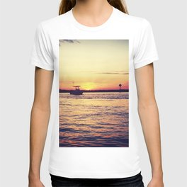 Sunsets and Boats T-shirt