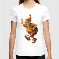 gnome T-shirts featuring Gnome by Olga Shefranov