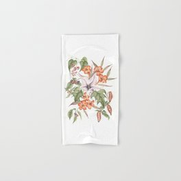 Thorn Apple with Yellow Jasmine and Other Poisonous Plants Hand & Bath Towel