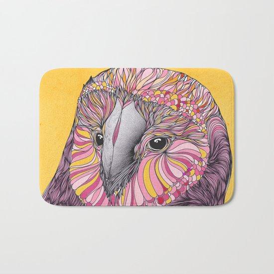 Lovely Owl (Feat. Bryan Gallardo) Bath Mat