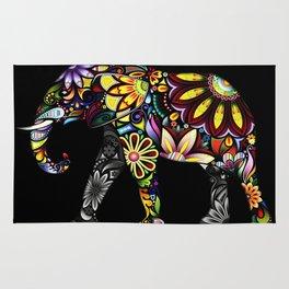 Aztec Elephant Rug