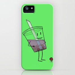 bbl tee iPhone Case