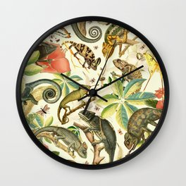 Chameleon Party Wall Clock
