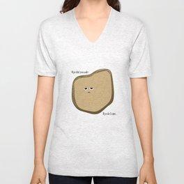 Wry Bread Unisex V-Neck
