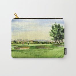 Carnoustie Golf Course Scotland 13th Green Carry-All Pouch