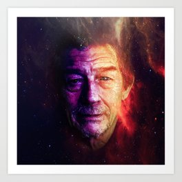 John Hurt tribute Art Print