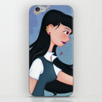 downton abbey iPhone & iPod Skins featuring Abbey by Katherine Galo