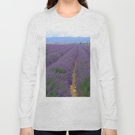 Lavander Long Sleeve T-shirt