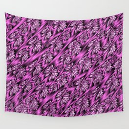 colored subtle pattern Wall Tapestry