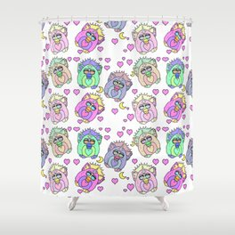 Talk Furby To Me Shower Curtain
