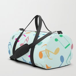 Music Colorful Notes Duffle Bag
