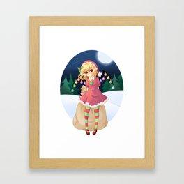 Merry Flanmas! Framed Art Print