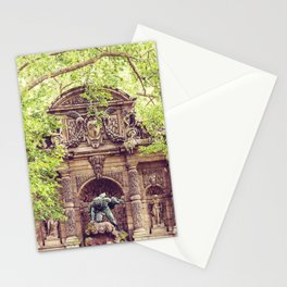 Medici Fountain in Spring Stationery Cards
