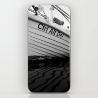 boat iPhone & iPod Skins featuring boat by habish