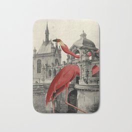 NUMBER 17 (FLAMINGO) Bath Mat